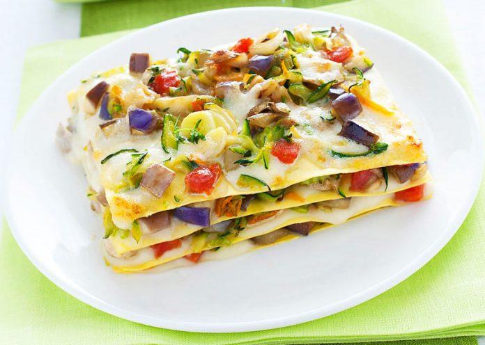 Lasagna fredda vegetariana, gustosa e leggera per l'estate