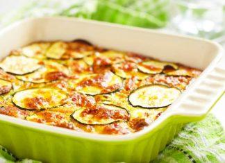 parmigiana vegetariana bianca di zucchine
