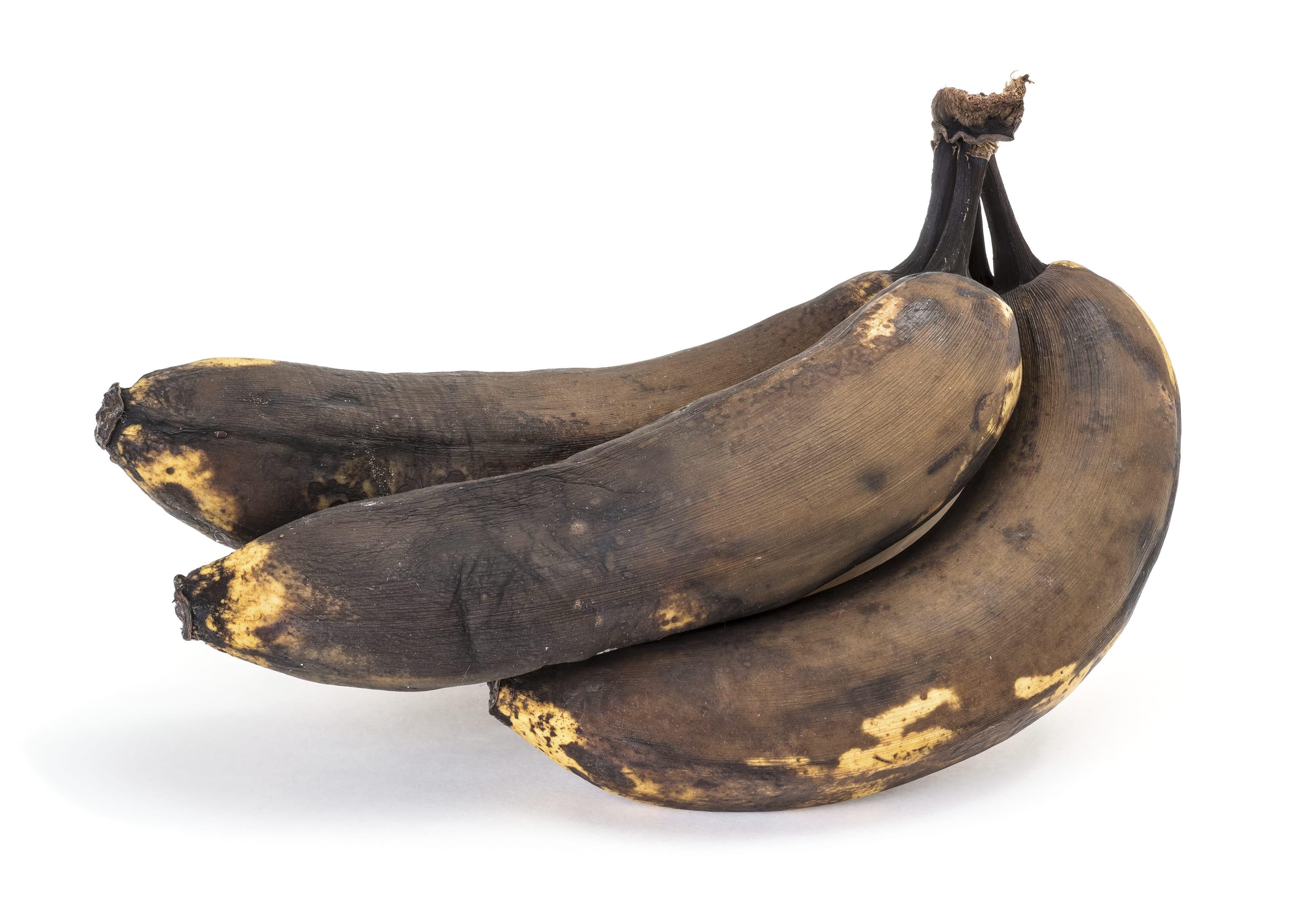 banane marroni eccessivamente mature