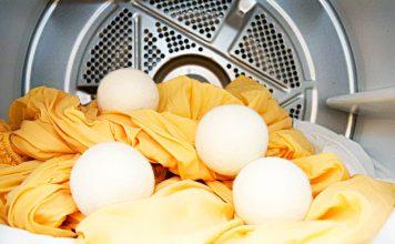 Palline di lana fai da te in lavatrice o asciugatrice