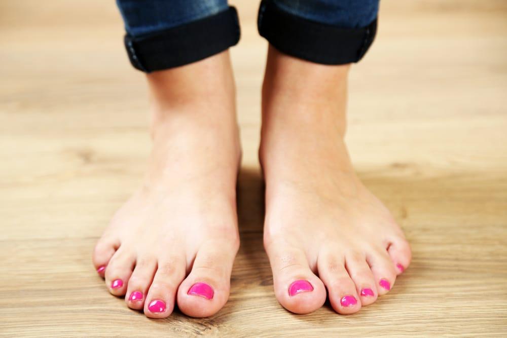 piedi curati