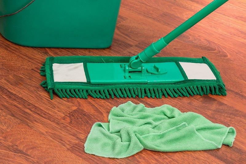 eliminare la polvere in modo naturale