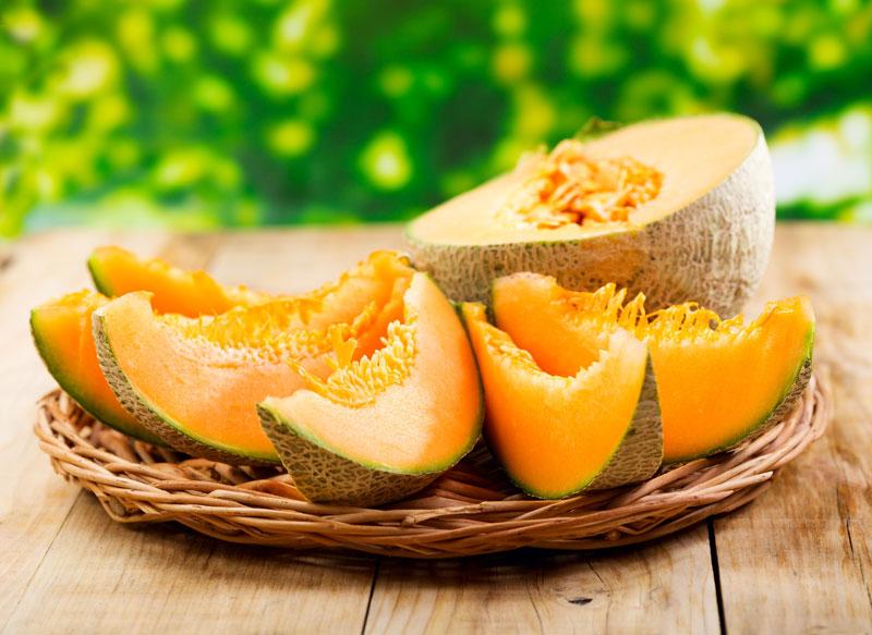 melone e beta carotene per l'abbronzatura