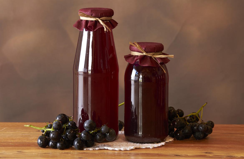 succo d'uva in conserva