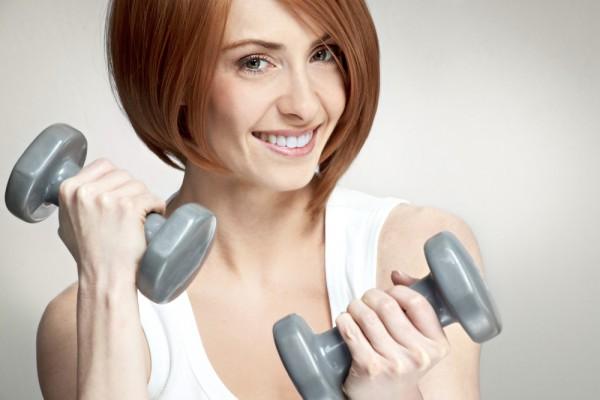 esercizi con i pesi per le braccia