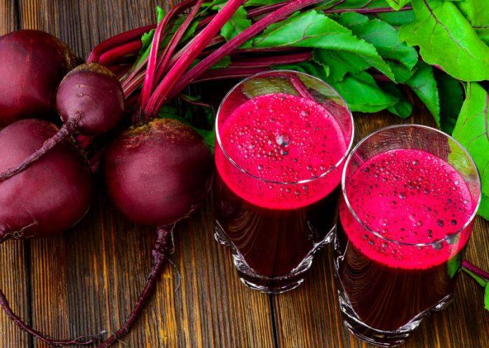 dieta del centrifugato di barbabietola rossa