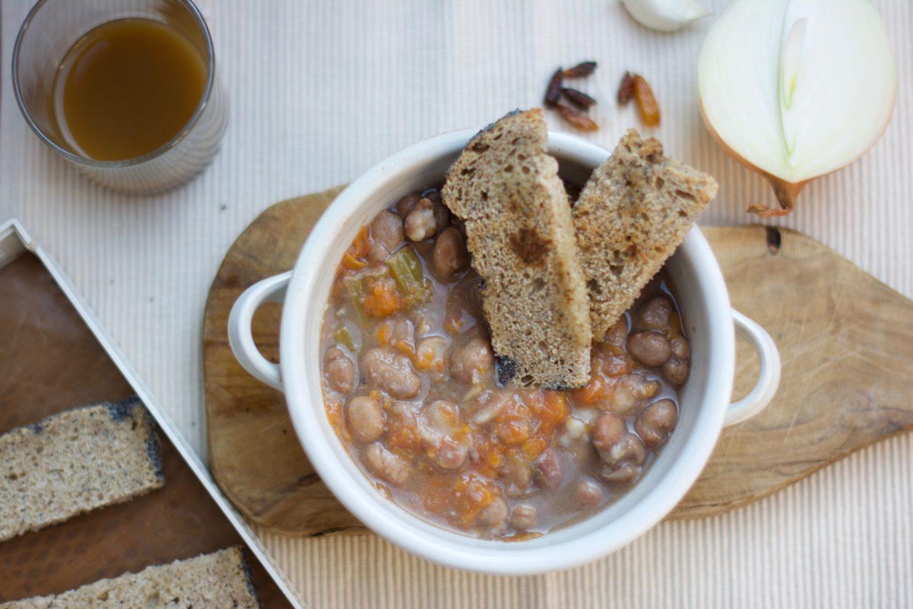zuppa calda invernale