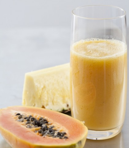 frullato alla papaya