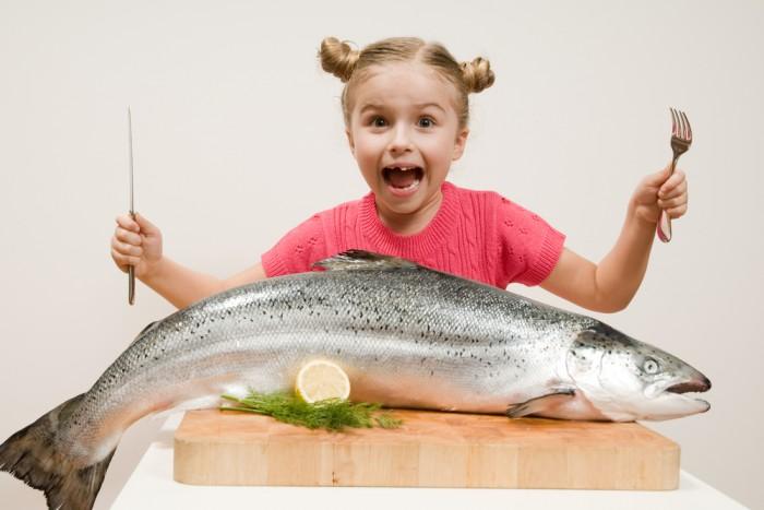 pesce azzurro per i bambini