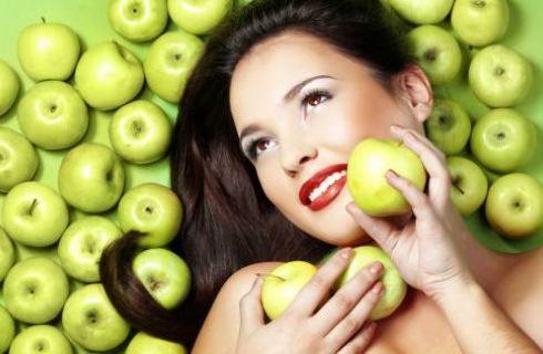 maschera alla mela fai da te