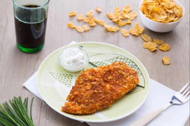 pollo e corn flakes senza glutine