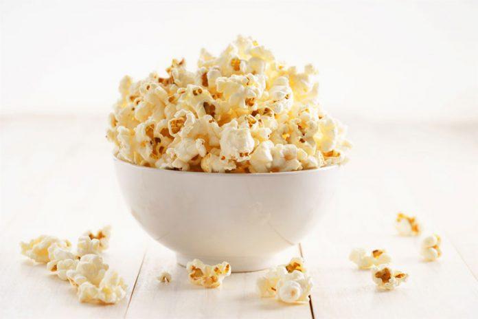 Popcorn, uno snack sano e naturale