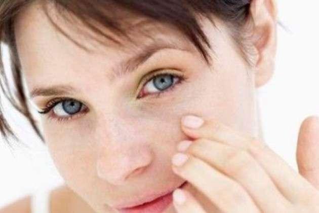 fibroma pendulo sull'occhio
