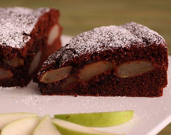 torta vegan pere e cioccolato