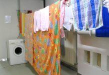Asciugare i panni in casa in inverno