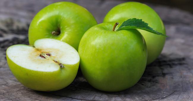mela verde benefica