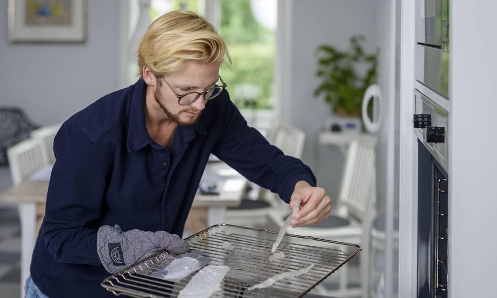 Pontus Törnqvist inventore della plastica fatta con le patate