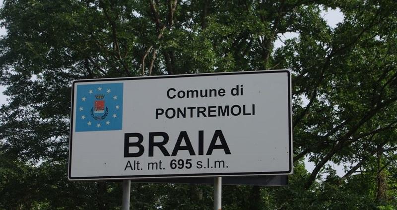 Braia (Pontremoli), paese fantasma