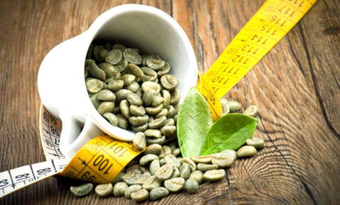 caffè verde pancia piatta
