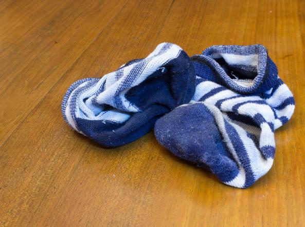 calzini sporchi
