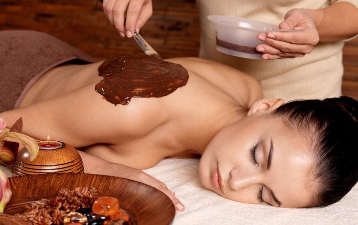 Cioccolatoterapia per la pelle