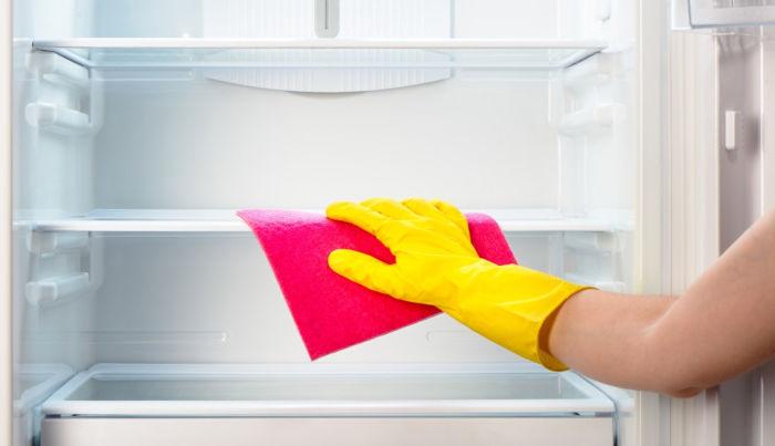 Pulire la guarnizione del frigorifero con prodotti naturali