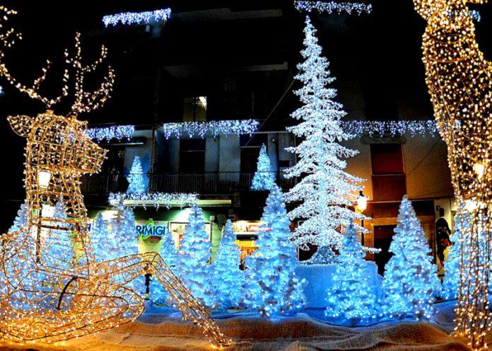 Le 5 più belle luminarie natalizie delle città italiane