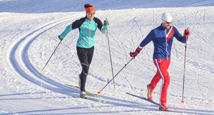 Sci di fondo uno dei migliori sport da fare in inverno