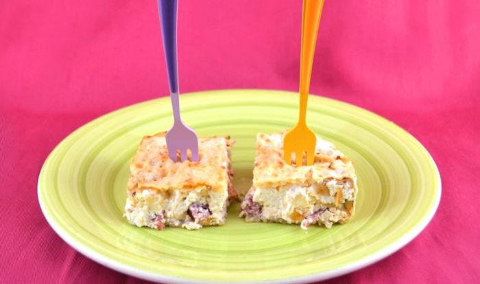 ricetta torta salata pane azzimo