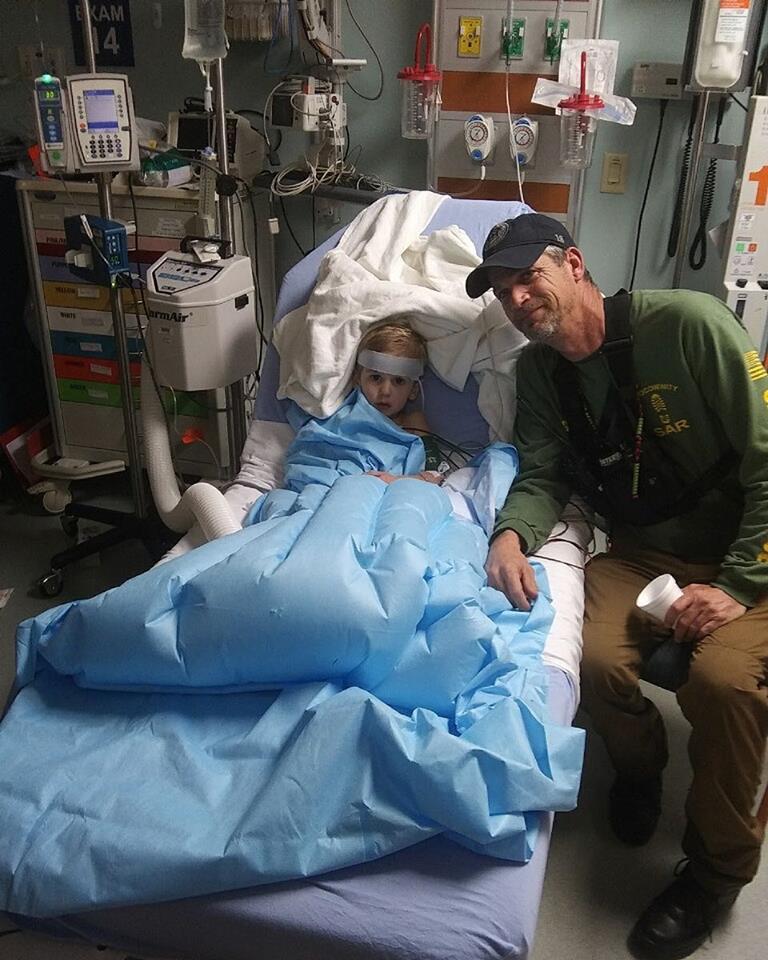 Casey in ospedale dopo essere stato ritrovato