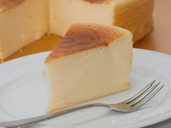 Cheesecake spumoso