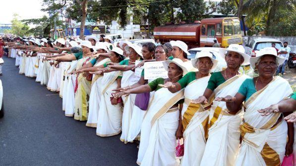 La protesta di milioni di donne indiane