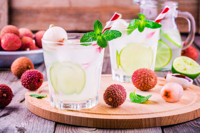 litchi cocktail