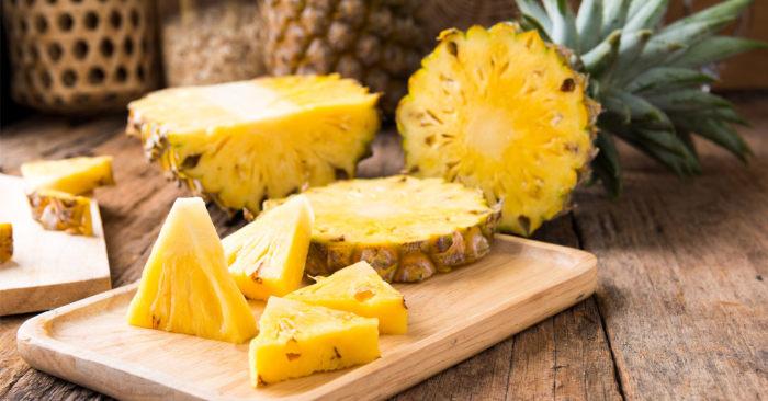 Mangiare ananas per guarire prima dai lividi