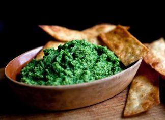Pesto invernale con i broccoli (ricco di vitamina C)