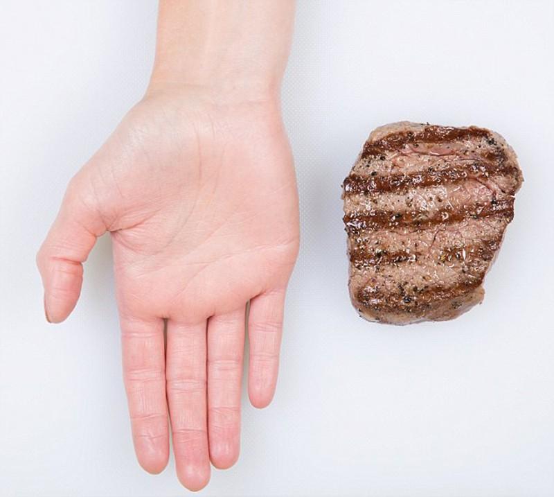 Dieta: misurare le porzioni giuste con la mano
