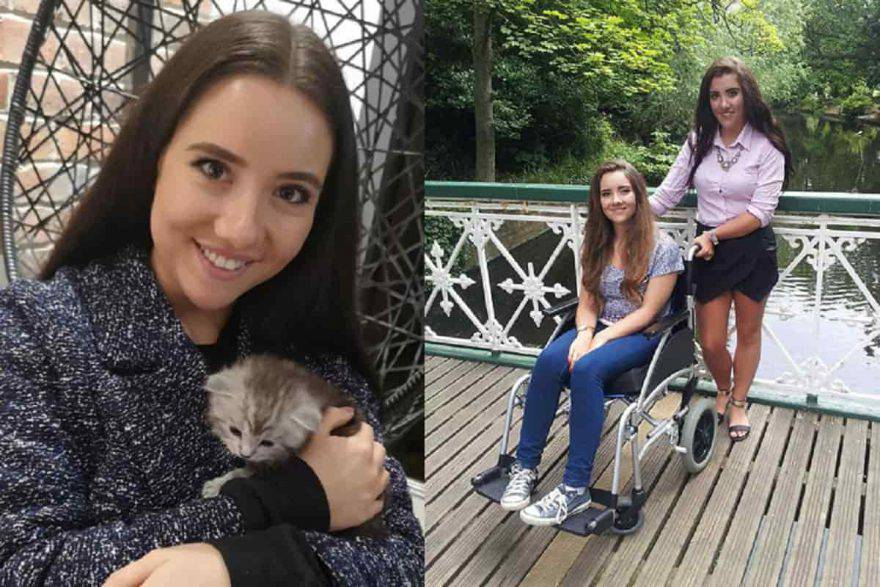 La ragazza con il gattino portatore del batterio pericoloso