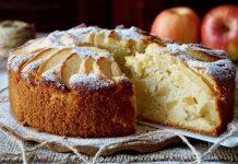 Torta di mele sofficissima e senza burro (ricetta vegan)