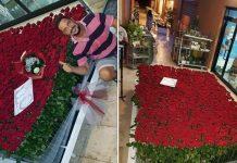 1250 rose rosse per San Valentino