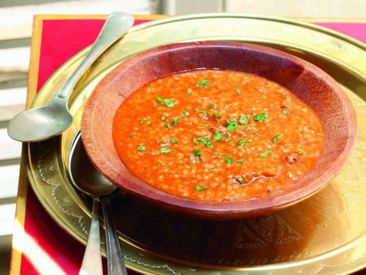 BUlgur zuppa di pomodoro ricetta
