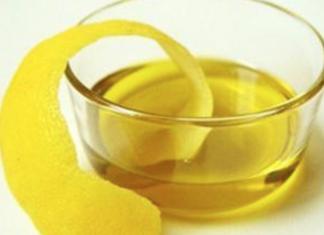 come preparare olio essenziale di limone