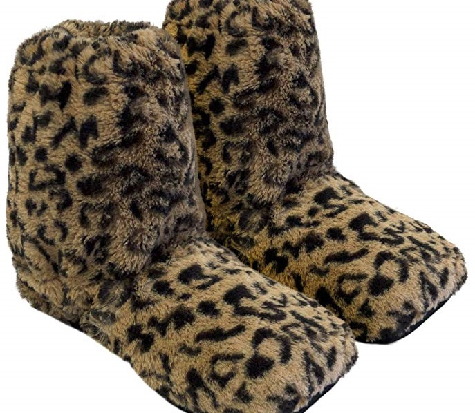 pantofole da scaldare nel microonde