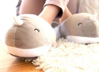 pantofole calde per chi soffre di piedi freddi